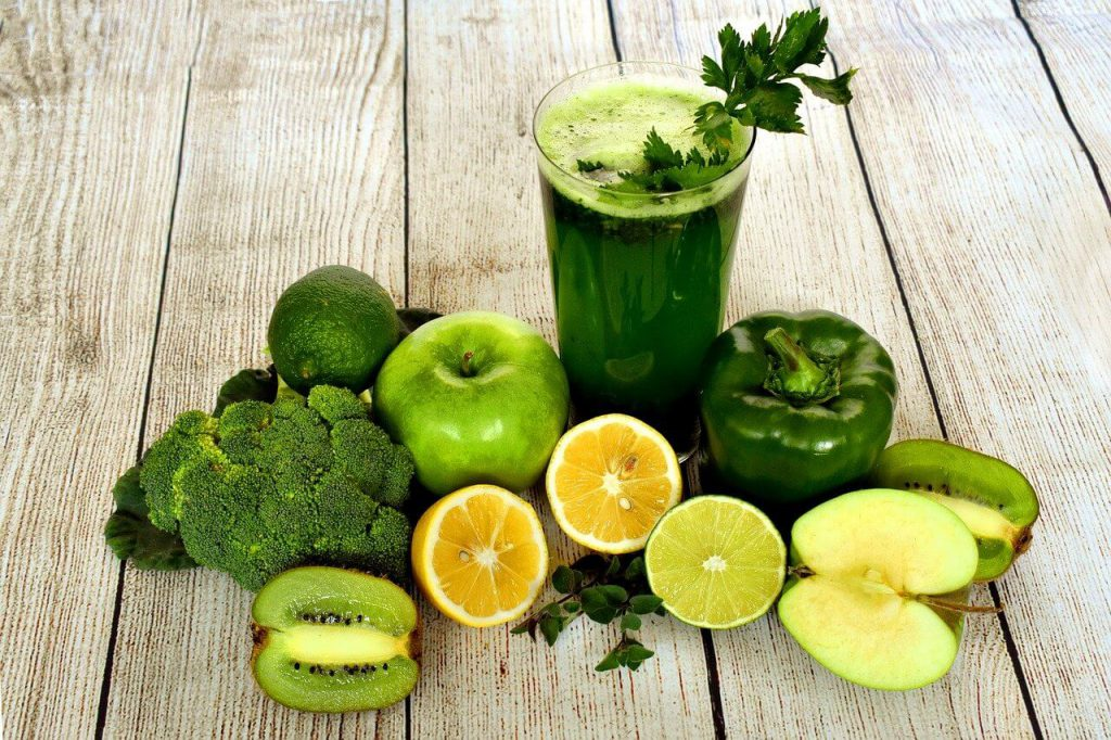 A green smoothie dring